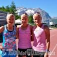 Le tre gemelle estoni della Maratona, a Sestriere per preparare le Olimpiadi di Rio