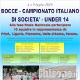 Bocce, al Veloce Club Pinerolo in corso i Campionati Italiani per società under 14
