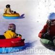 Pragelato: winter tubing, nei ciambelloni giù per le piste dei trampolini