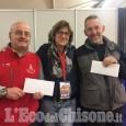 Expo Luserna: consegnati ad Aib e VVFF i fondi raccolti dai commercianti