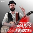 Il pinerolese Marco Priotti a The Voice of Italy