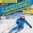 Sestriere: II Trofeo Paolo Colarelli, i maestri scendono in pista