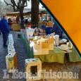 Pinerolo: al mercato clima surreale