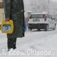 Allerta gialla per neve in Val Chisone, Pellice e Po