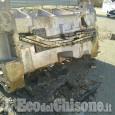 Nichelino: auotreno perde pesante carico, nessun ferito solo danni all'asfalto