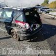 Nichelino: scontro fra auto in tangenziale, due feriti e lunghe code