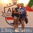 Europei di Cheerleading in Olanda: due pinerolesi sul podio
