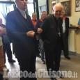 Candiolo: l'arcivescovo Nosiglia in visita alla Madonnina