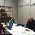 Incendio Cantalupa: il Canadair non può ancora volare, zone a rischio presidiate, si valutano evacuazioni