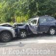 Incidente tra Orbassano e Beinasco, quattro le auto coinvolte nel sinistro