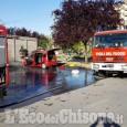 Orbassano: auto in fiamme in via Amendola