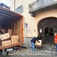 Pinerolo: iniziata distribuzione pacchi alimentari ai bisognosi