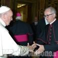 Il futuro vescovo di Pinerolo incontra papa Francesco
