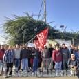 Caseificio Pezzana, lavoratori in sciopero