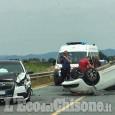 Orbassano: carambola tra auto in via Stupinigi