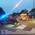 Pinerolo: 12enne investito da un'auto in corso Torino
