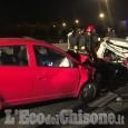 Orbassano: tamponamento in tangenziale, due feriti all'uscita di Sito Interporto