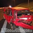 Piscina: scontro tra auto sulla Torino-Pinerolo, cinque feriti lievi