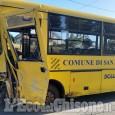 San Secondo: furgone contro scuolabus in via san Rocco, nessun ferito
