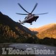 Crissolo: coppia di alpinisti colpita da una scarica di sassi sul Monviso