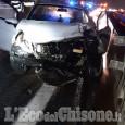 Rivalta: scontro fra auto in tangenziale sud, ferita una 24enne