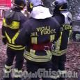 Roure: caviglia imprigionata sotto un tronco, liberato dai Vigili del fuoco