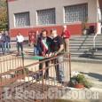 Pinasca: inaugurato il parco dedicato ai donatori di sangue dell'Avis