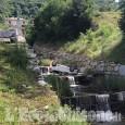 Pinasca: auto precipita nel rio di Castelnuovo, nessun ferito