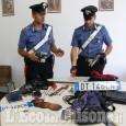 Arrestati dai Carabinieri dopo un inseguimento: nell'auto gli attrezzi per i furti