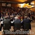 Piossasco: gran folla al Mulino per il faccia a faccia tra Giuliano e Gamba
