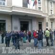 Pinerolo: Pmt lavoratori in strada
