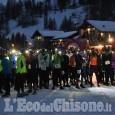Pragelato Snow Run sotto le stelle: Bortolas domina la seconda edizione
