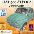 Pinerolo: domenica raduno benefico delle Fiat 500 in favore dell'Unicef