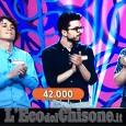 Tre pinerolesi campioni al quiz tv condotto da Amadeus