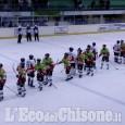 Hockey ghiaccio, finisce 7 a 2 per il Briancon la sfida di Torre Pellice
