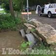 Cardé, forti piogge: corsi d'acqua sopra il livello di guardia