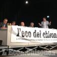 """Rivalta: 200 persone al dibattito tra i candidati sindaco organizzato da """"L'Eco del Chisone"""""""