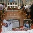 I funerali delle quattro vittime pinerolesi della tragedia di Genova