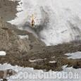 Escursionista disperso, ritrovato senza vita in fondo ad un canalone
