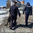 Sestriere: controlli dei carabinieri sulle piste da sci della Via Lattea