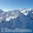 Sestriere: l'elicottero dei carabinieri per monitorare il rischio valanghe