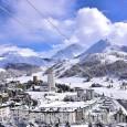 Prima nevicata: 15 centimetri al colle del Sestriere, quota neve sotto 2.000 metri