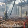 Pinerolo: incendio in un magazzino nell'area Turck