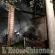 Vigone: fiamme sul tetto di una cascina disabitata, illesi i cavalli