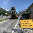 Villar Perosa-Pinasca: senso unico alternato con semaforo sulla Sp23