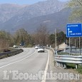Villar Perosa: tre giorni di chiusura per lo svincolo del bacino in direzione Sestriere