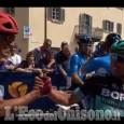 Embedded thumbnail for Giro d'Italia: alla partenza di Pinerolo i complimenti a Benedetti
