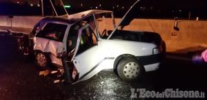 Schianto in tangenziale sud, muore 69enne di Orbassano