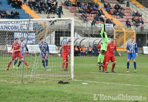 Calcio: Pinerolo sconfitto in casa 3-0 dall'Alpignano