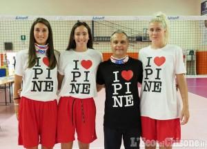 Volley serie A2, riecco Pinerolo: presentazione e primo allenamento
